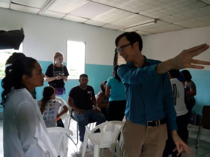 Dr. Ben Konig is the second VOSH Corps OD to serve at the Universidad Nacional Autónoma de Nicaragua, following Dr. Manning and successfully continuing the VOSH Corps Program in Managua.